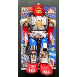 ROBOT ESPACIAL 29CM CAM/SON/LUZ 160535