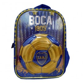BOCA JUNIORS MOCHILA C/PASTO 12P BO005