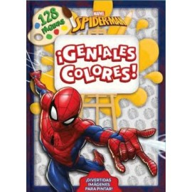 SPIDERMAN COLOURING Nº4 3954