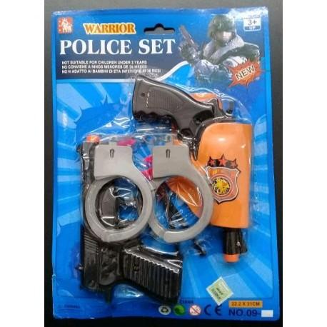 SET DE POLICIA EN BLISTER 57023