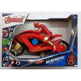 IRON MAN FRICCION MOTORCYCLE 7118