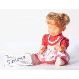 SIMONA BEBA CON CABELLO NATURAL 0196