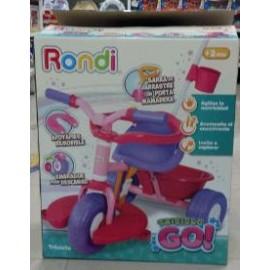 Triciclo Go Rosa 13021