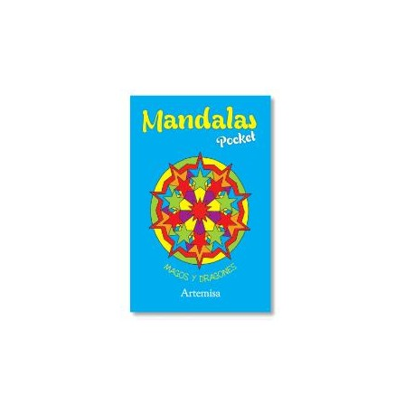 MANDALAS POCKET MAGOS Y DRAGONES