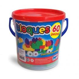 BALDE DE BLOQUES X 60 UNIDADES 410