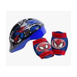 SET DE CASCO CON PROTECTOR SPIDER.501300