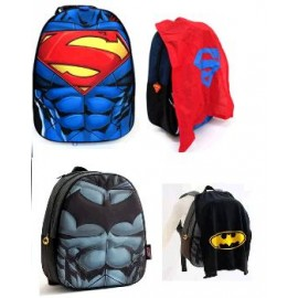 MOCHILA JARDIN L.J-BATMAN-SUPERMAN 61116