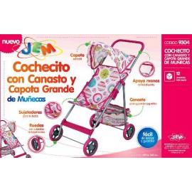 COCHE C/CANASTO Y CAPOTA GR.ML-9304