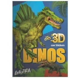 DINOSAURIOS 3D GARRA 7653