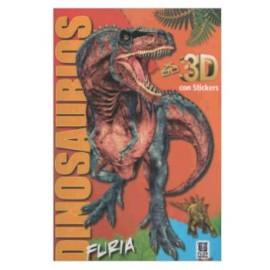 DINOSAURIOS 3D FURIA 7646