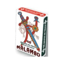 NAIPE ESPAÑOL ESTUCHE MALAMBO 1875
