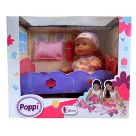POPPI-BEBE CON CUNITA 6604-28066