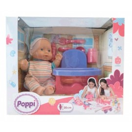 POPPI-BEBE CON SILLITA 6606-28070