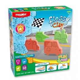 SET MASA PAULINDA FLOSSY CLAY CARS 4143