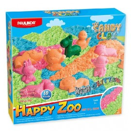 SET PAULINDA SANDY CLAY HAPPY ZOO 3810