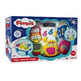 PIMPIS SUPER MESA DE JUEGOS 3629