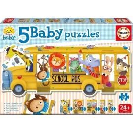 BABY PUZZLES SCHOOL BUS 18026