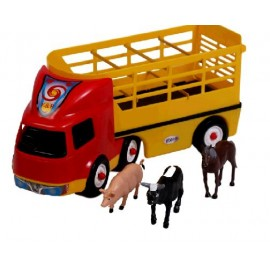TRANSPORTE CON 3 ANIMALES DE GRANJA324/A