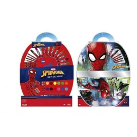 SPIDERMAN SET DE ARTE 50PZAS HA151