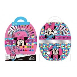MINNIE SET DE ARTE 50PCS KM388