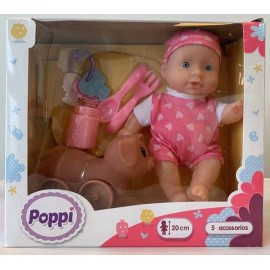 POPPI- BEBE CON SU MASCOTA 6603-28045