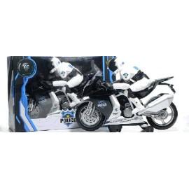MOTO POLICIA C/LUZ Y SONIDO PK4496