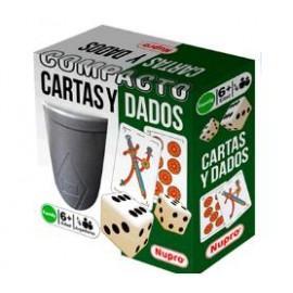 CARTAS Y DADOS COMPACTO 1311