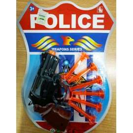 CONJUNTO DE POLICIA 29X19X3CM 50762