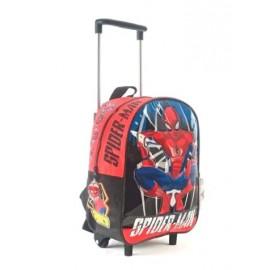 MOCHILA SPIDERMAN  C/CARRO 12' 62316