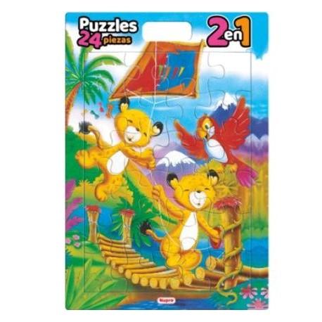 CUBI PUZZLE X24 2 EN 1 1015/16/17/18