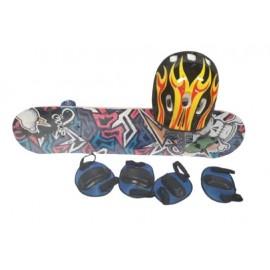 SUPER SKATE 70X20CM C/ACCESORIOS 10125