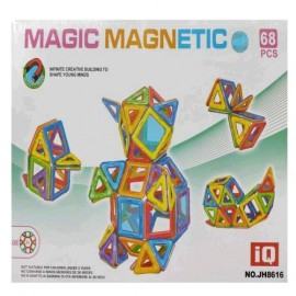 BLOQUES MAGNETICOS COLORES 68PZS MG13