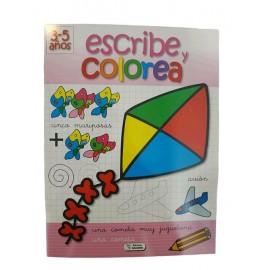 ESCRIBE Y COLOREA BARRILETE SA-214
