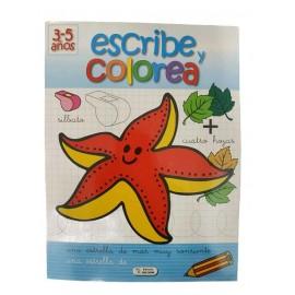 ESCRIBE Y COLOREA ESTRELLA SA-216