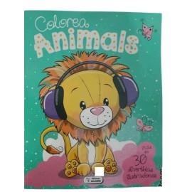 COLOREA ANIMALES LEON SA-303