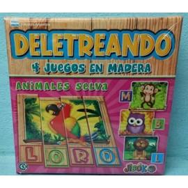DELETREANDO-ANIMALES DE LA SELVA 00003