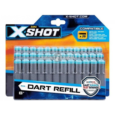 X-SHOT REPUESTO DARDOS X36 7054-3618