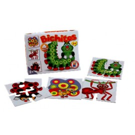 BICHITOS PUZZLE X 4 ART H352