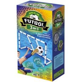 SET ARCOS DE FUTBOL 3 EN 1 01-0198